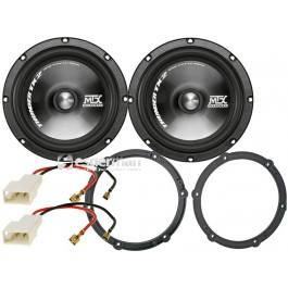 Difuzoare Usi Fata Citroen C1 MTX Audio TX2