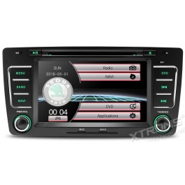 Xtrons DVD cu Navigatie Skoda Octavia II / Yeti
