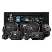 Pachet Audio Player Alpine si Difuzoare JBL
