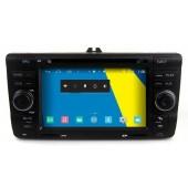 Edotec M005 Dvd auto Navigatie Gps Usb Sd Bluetooth Ecran Tactil Octavia 2