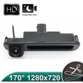 Camera Marsarier HD, Unghi 170 grade cu StarLight Night Vision FORD FOCUS 3 Hatchback/Break pe Manerul de la Hayon