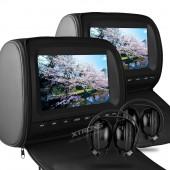 Xtrons HD905 Pachet Tetiere Auto cu Casti