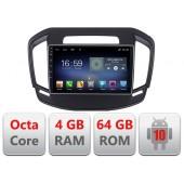 Navigatie Dedicata Opel Insignia 2014-2016 E-338 Android radio gps internet Octa Core 4+64 LTE