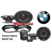 Alpine Difuzoare Auto BMW E36
