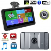Sistem Navigatie cu Android 4.4.2, WiFi, Bluetooth si Camera DVR